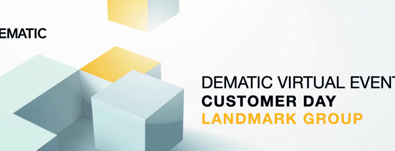 Dematic setzt Virtual Events mit Customer Day im Mega-Distributionszentrum der Landmark Group fort