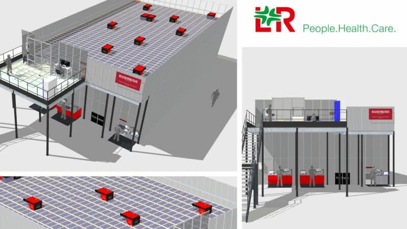 Neues AutoStore-Lager für Medizinprodukte-Hersteller Lohmann & Rauscher