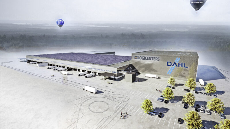 Kooperation zwischen SSI Schäfer und Dahl zur Errichtung eines einzigartigen hoch-automatisierten Warenlagers