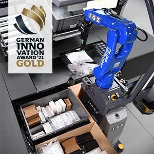 IGZ gewinnt German Innovation Award in Gold